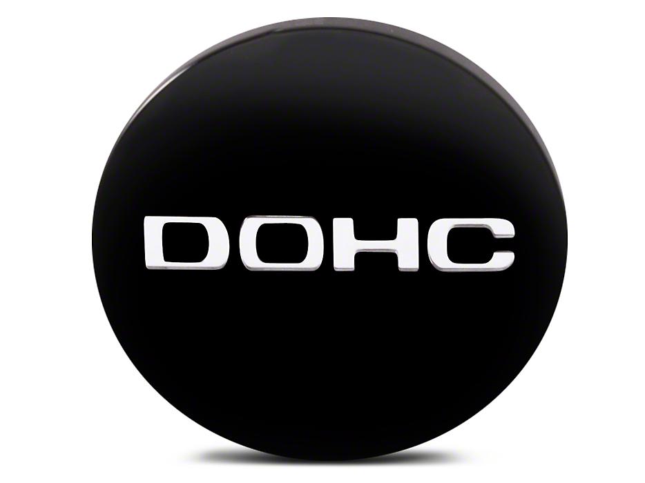 Black DOHC Center Cap - Large