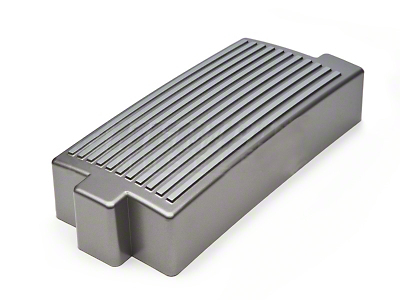 California Pony Cars Finned Fuse Box Cover - Titanium Silver (05-09 GT, V6)