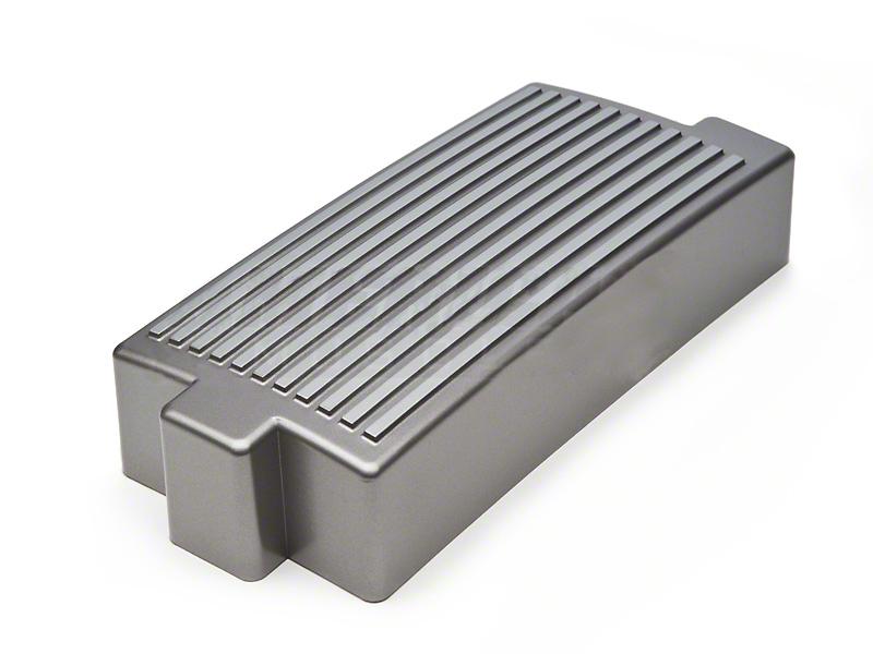 SpeedForm Finned Fuse Box Cover - Titanium Silver (05-09 GT, V6)