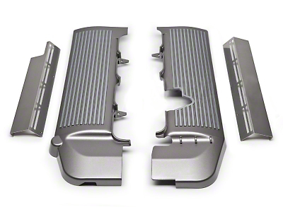 SpeedForm Fuel Rail Covers - Titanium Silver (05-10 GT)