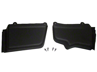 California Pony Cars Mustang Battery & Master Brake Cylinder Cover Kit (05-14 All)
