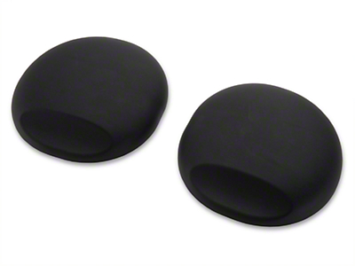 California Pony Cars Strut Tower Covers - Black (05-14 All)