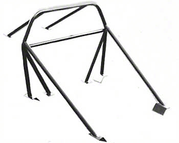 SR Performance 8-Point Roll Bar - Coupe/Hatchback (79-93 All)
