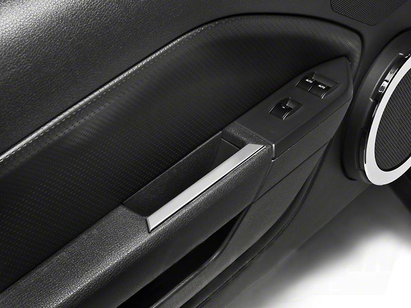 Modern Billet Chrome Interior Door Handle Accents (05-09 All)