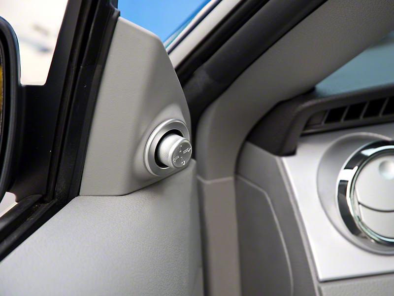 Modern Billet Satin Mirror Control Cover (05-09 All)