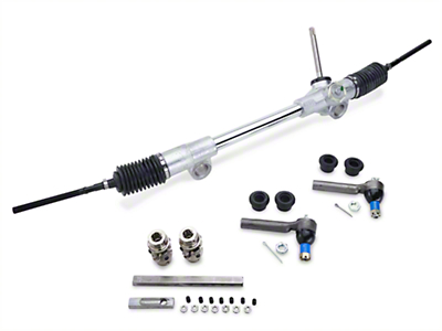 Flaming River 20:1 Manual Steering Rack Kit (79-93 All)