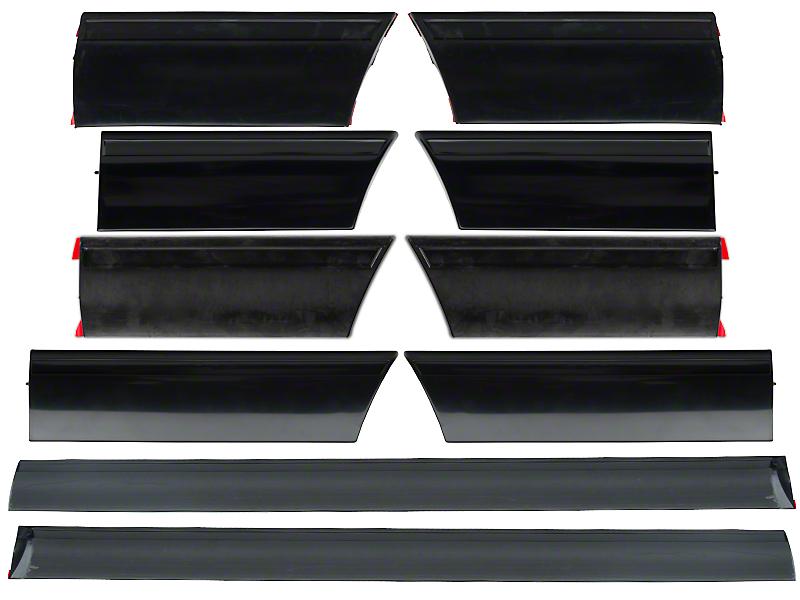 OPR LX Side Body Molding - 10 Piece Kit (87-90 LX)