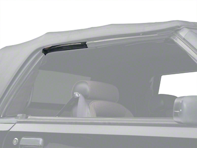 OPR Convertible Top Side Rail Weatherstrip - Right Side (83-93 All)