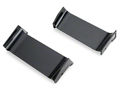 OPR Headlight Divider Bars (83-86 All; Excludes SVO)