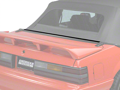 OPR Rear Center Well Molding Weatherstripping - Convertible (87-93 All)