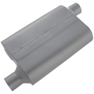 Flowmaster Original 40 Series Offset Muffler - 2.25 in. (79-04 All, Excluding 99-04 Cobra)