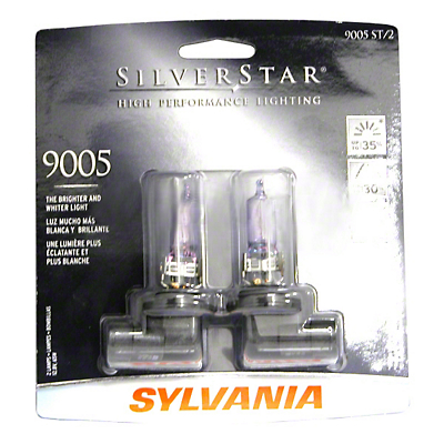 Sylvania Silverstar Light Bulbs - 9005