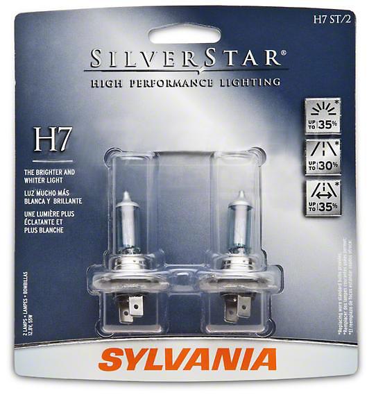 Sylvania Silverstar Light Bulbs - H7
