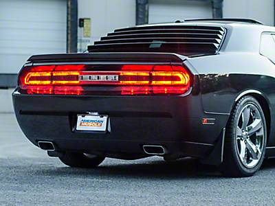 Dodge Challenger Lights Americanmuscle
