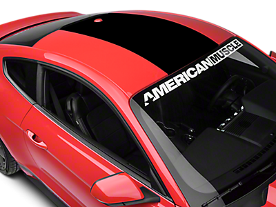 15 18 mustang · roof decals