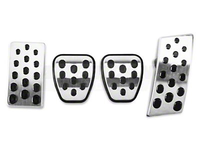 Bullitt Style Pedal Covers - Manual (94-04 All)