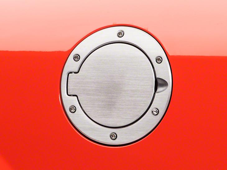 SpeedForm Bullitt Style Brushed Fuel Door (05-09 All)