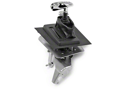 B&M Hammer Console Ratchet Shifter - Automatic (87-93 V8)