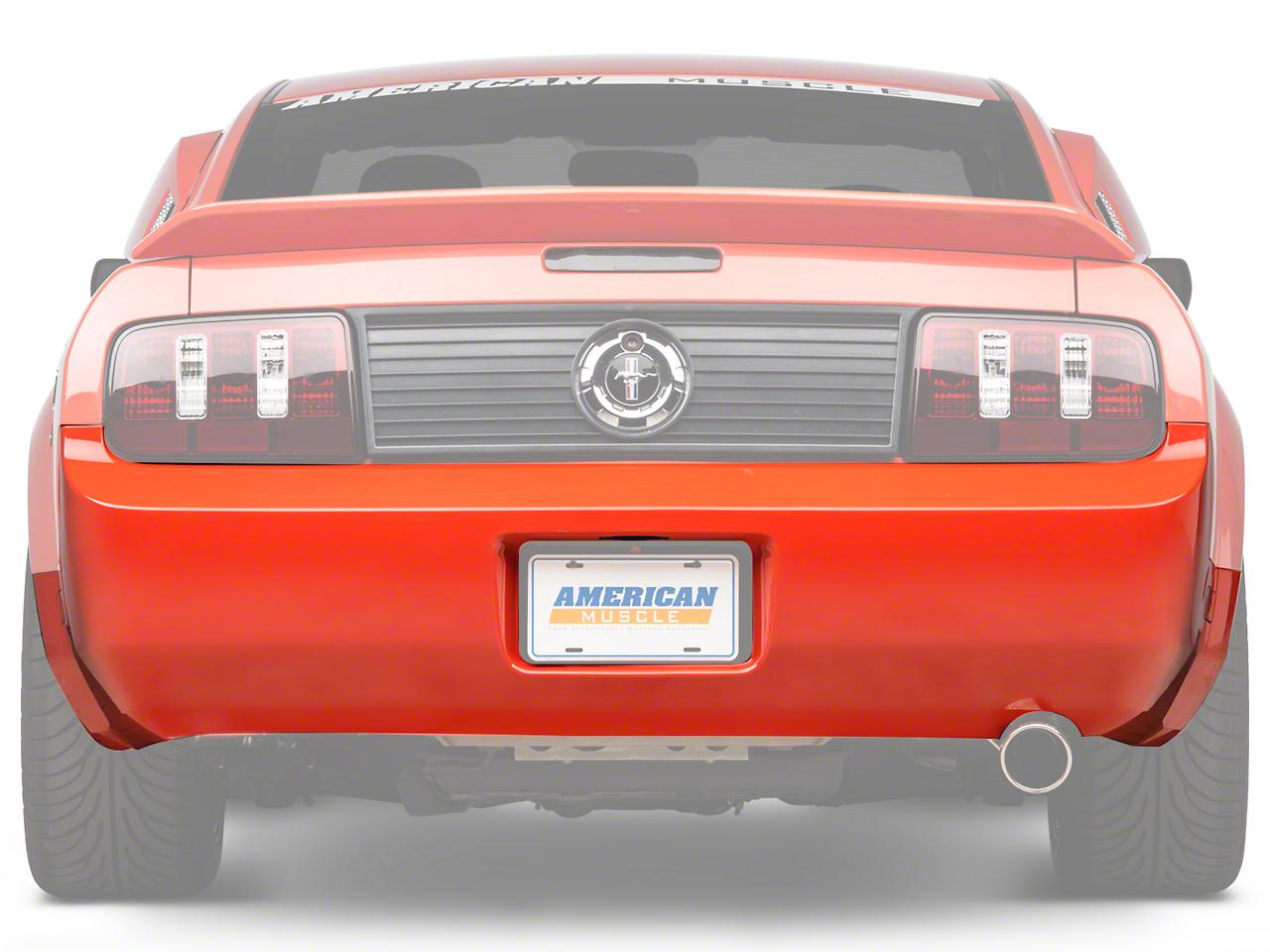 OPR Rear Bumper Cover - Unpainted (05-09 V6)