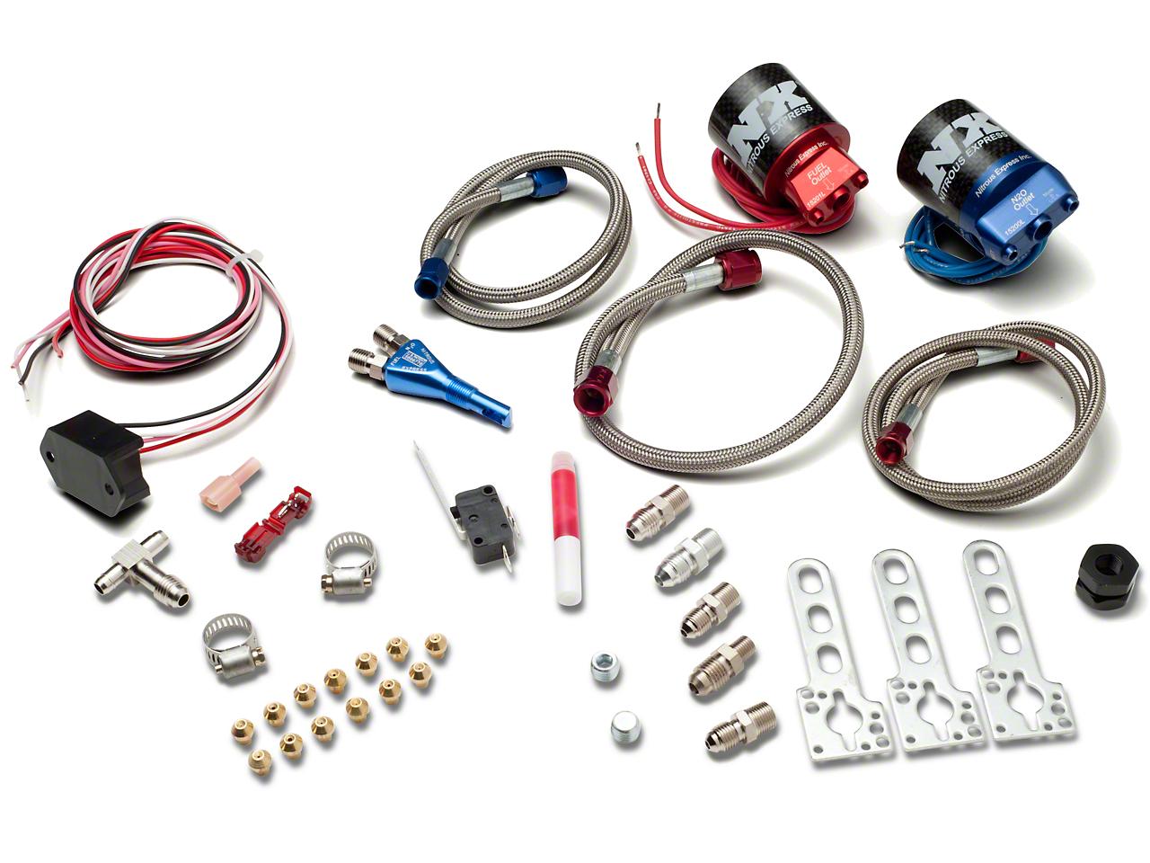 Nitrous Express Nitrous Kit - Nozzle System (05-10 GT)
