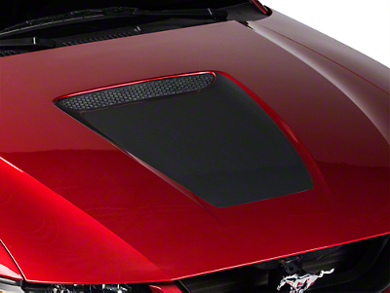 Matte Black Hood Decal (99-04 GT; 99-02 V6)