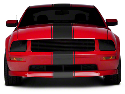 Matte Black Super Snake Style Stripe Kit (05-14 All)