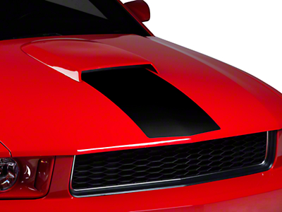 Black Hood Stripe (05-09 GT, V6)