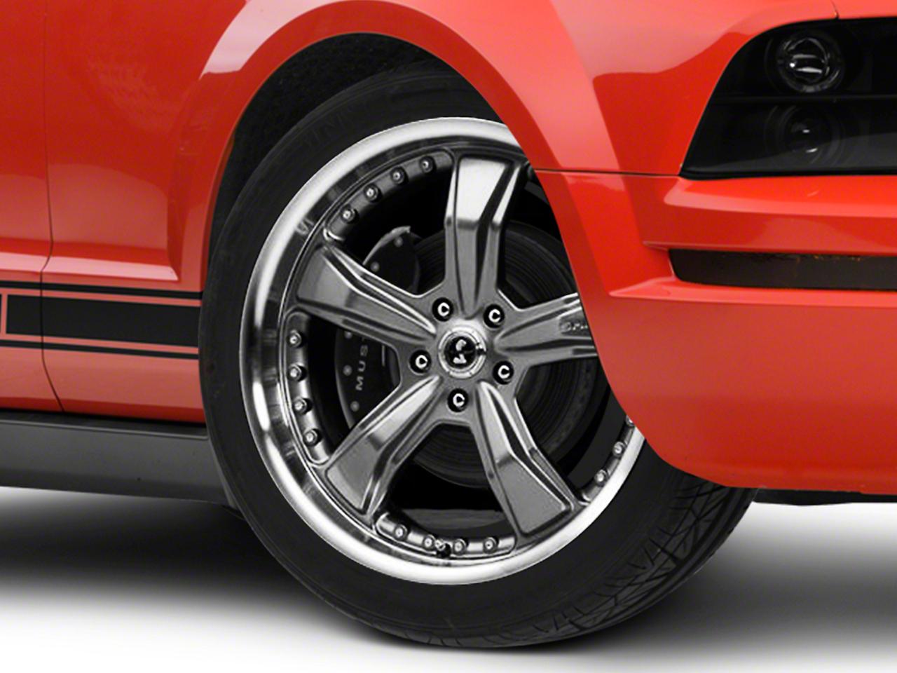 Shelby Razor Gunmetal Wheel - 20x9 (05-14 GT, V6; 07-12 GT500)