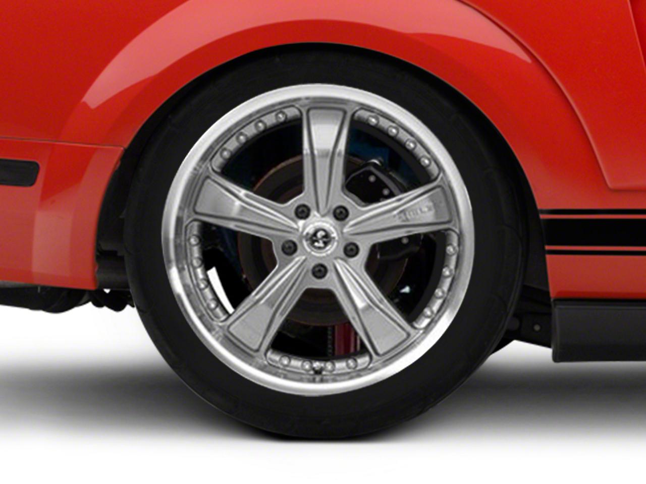 Shelby Razor Gunmetal Wheel - 20x10 (05-14 GT, V6; 07-12 GT500)