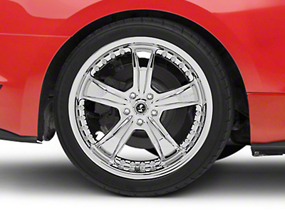 Shelby Razor Chrome Wheel - 20x10 (15-17 All)
