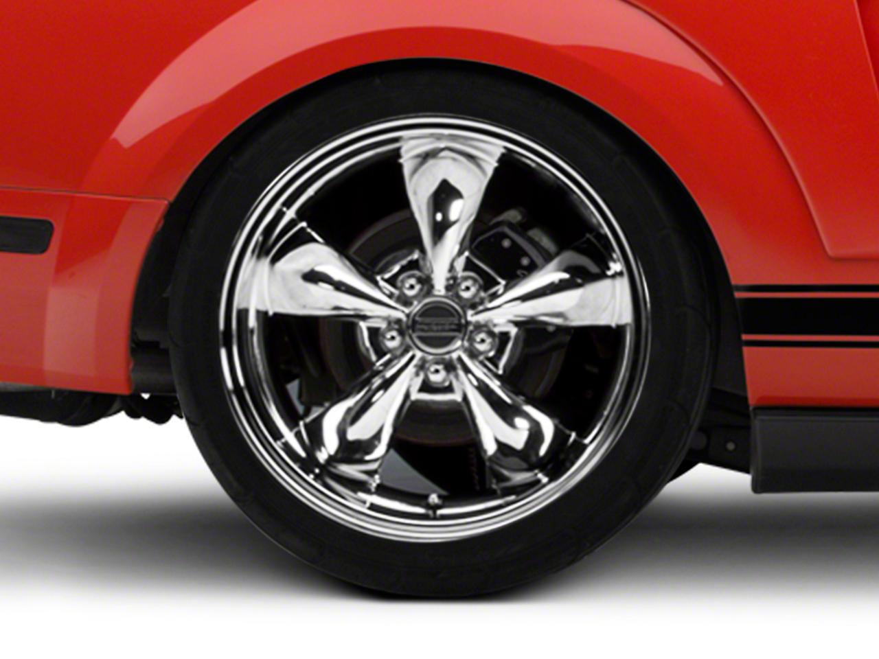 Deep Dish Bullitt Chrome Wheel - 20x10 (05-14 All, Excluding GT500)
