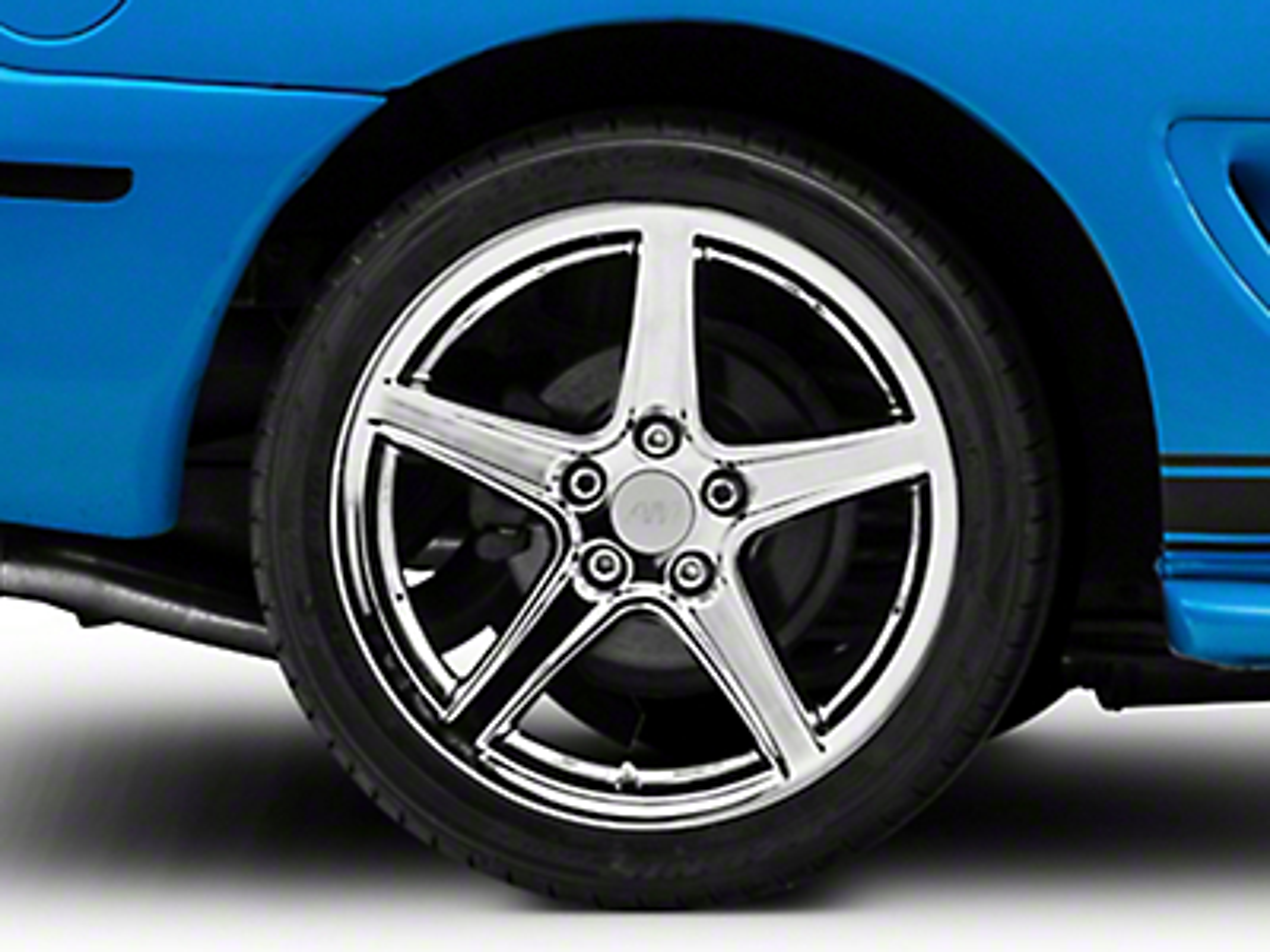 Saleen Style Chrome Wheel - 18x10 (94-04 All)