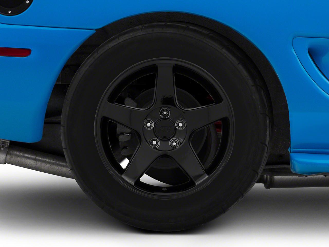 2003 Cobra Style Black Wheel - 17x10.5 (94-04 All)
