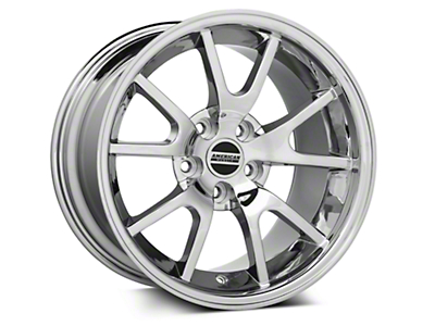 Deep Dish FR500 Style Chrome Wheel - 17x10.5 (94-04 All)