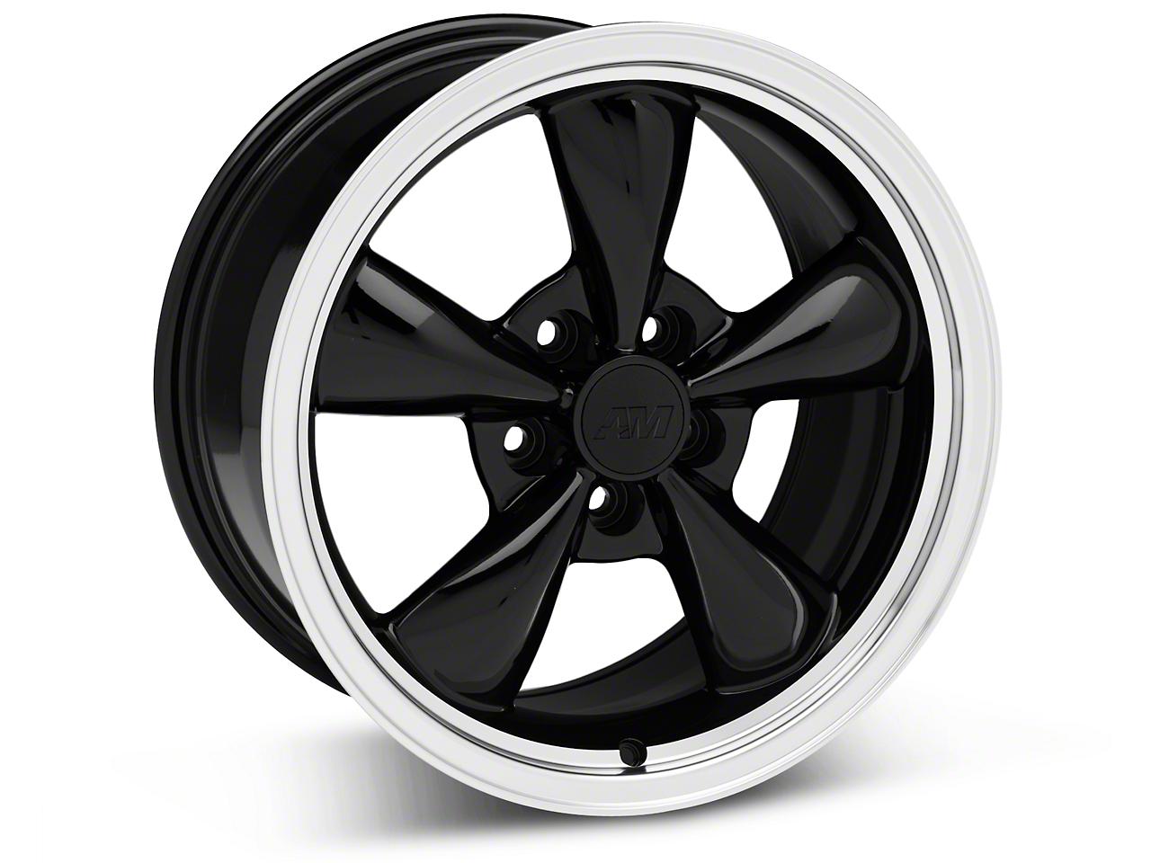 Bullitt Black Wheel - 17x9 (05-14 V6; 05-10 GT)