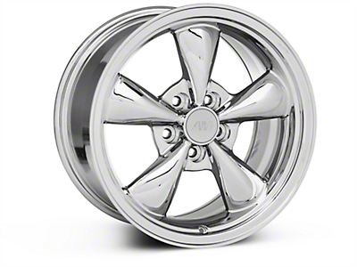 Bullitt Chrome Wheel - 17x9 (87-93 5 Lug Conversion)