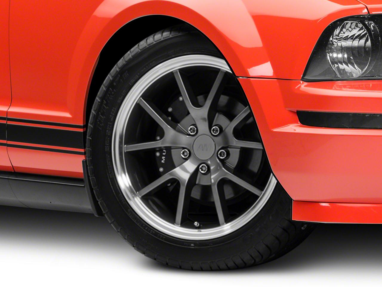 FR500 Style Anthracite Wheel - 18x9 (05-14)