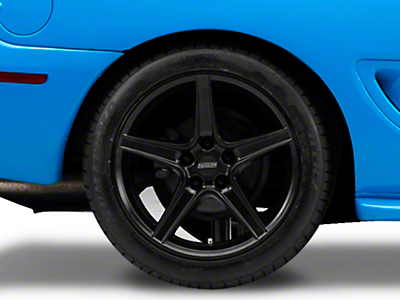 Saleen Style Matte Black Wheel - 18x10 (94-04 All)