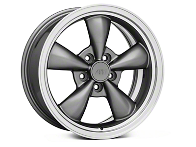 Bullitt Anthracite Wheel - 17x8 (94-04 All)