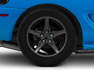 Saleen Style Black Wheel - 17x10.5 (94-04 All)