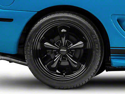Deep Dish Bullitt Solid Black Wheel - 18x10 (94-04 All)