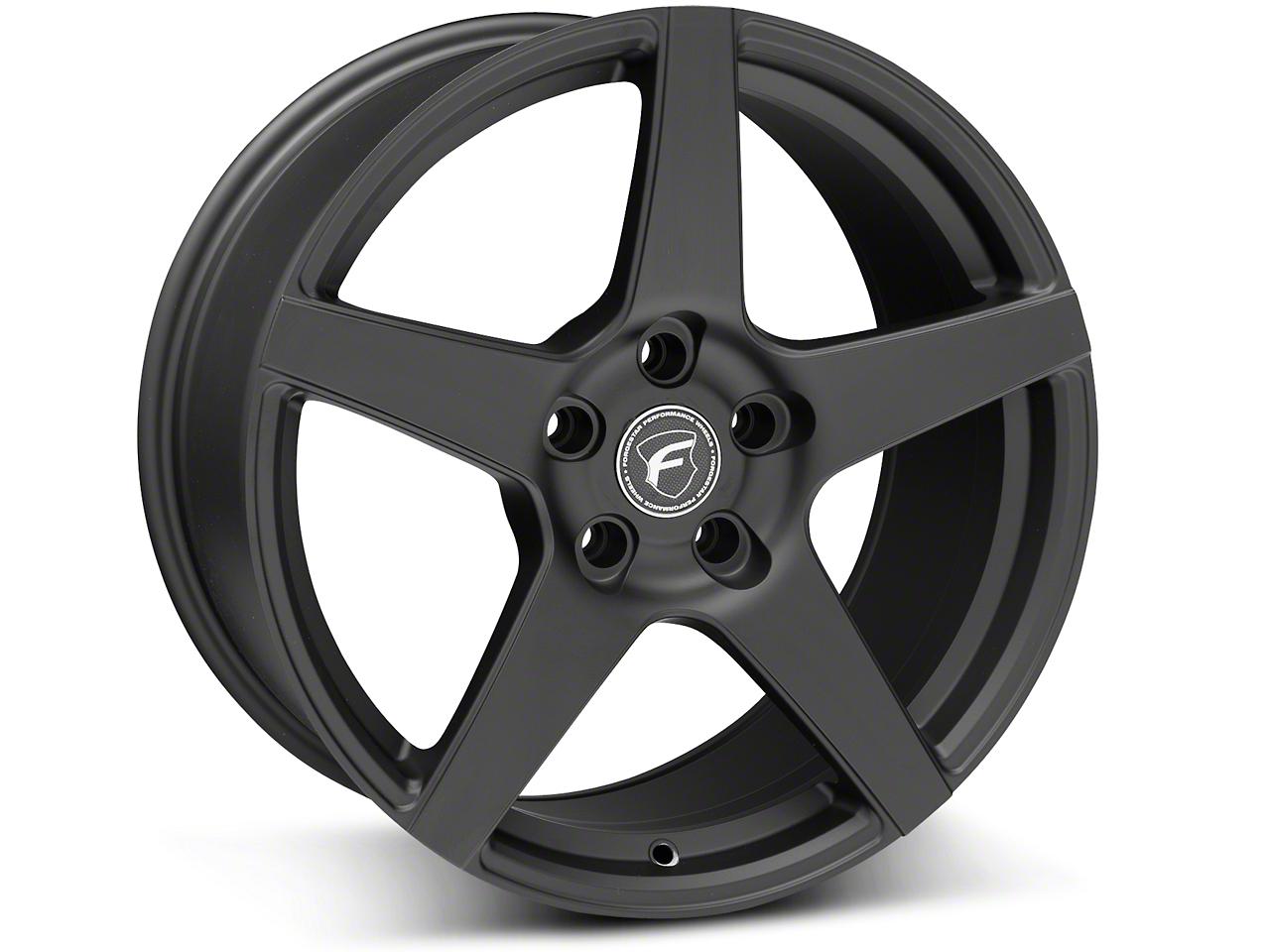 Forgestar CF5 Monoblock Matte Black Wheel - 18x9 (05-14 All)