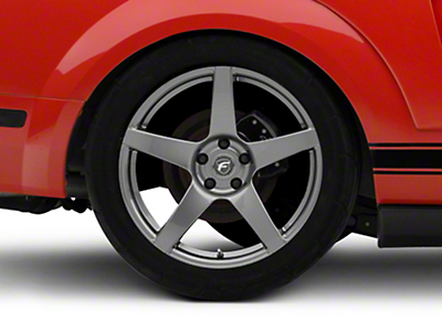 Forgestar CF5 Monoblock Gunmetal Wheel - 19x10 (05-14 All)
