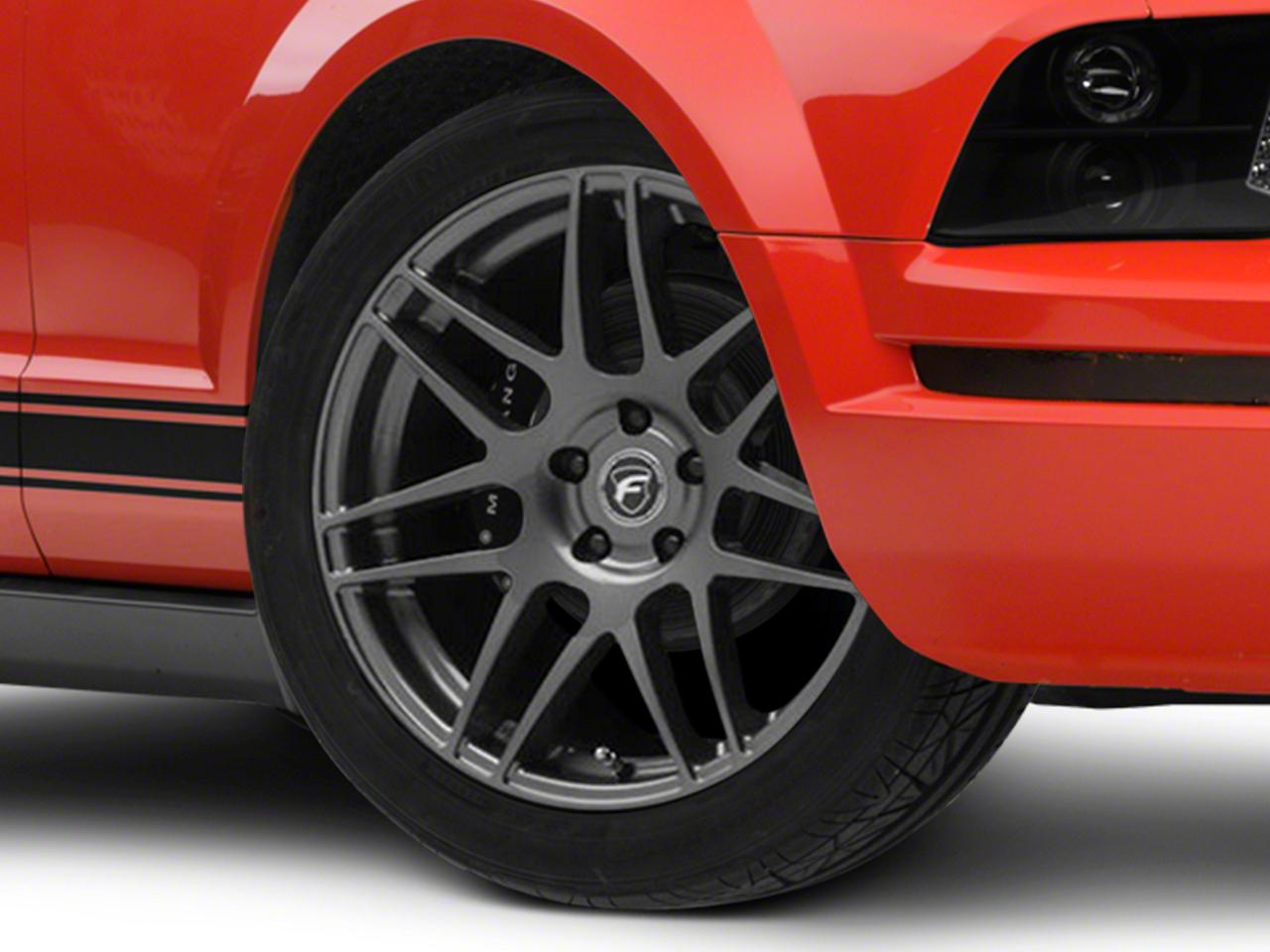 Forgestar F14 Monoblock Gunmetal Wheel - 19x9 (05-14 All)