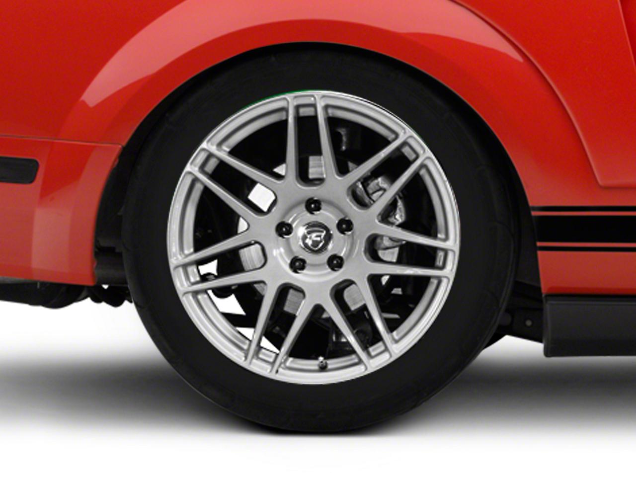 Forgestar F14 Monoblock Silver Wheel - 19x10 (05-14 All)