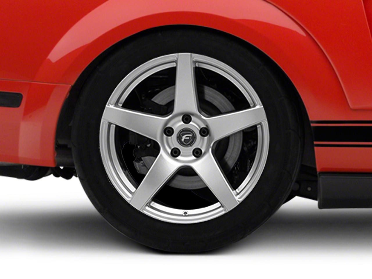 Forgestar CF5 Monoblock Silver Wheel - 19x10 (05-14 All)