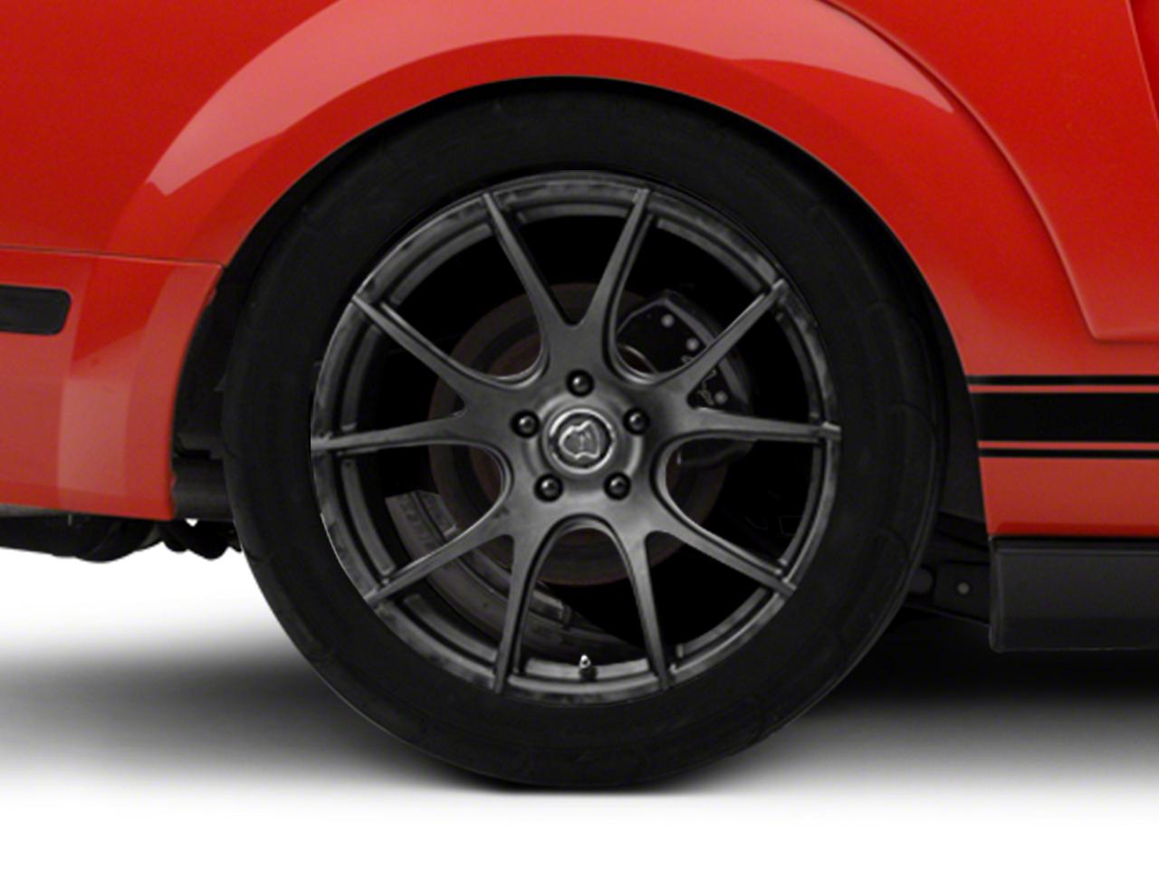 Forgestar CF5V Monoblock Matte Black Wheel - 19x10 (05-14 All)