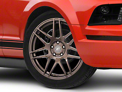 Forgestar F14 Monoblock Bronze Burst Wheel - 19x9 (05-14 All)