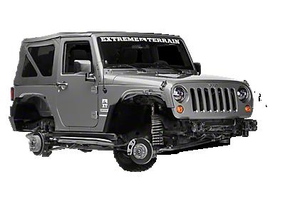 2007 2018 Jeep Wrangler Wheels Extremeterrain Free Shipping