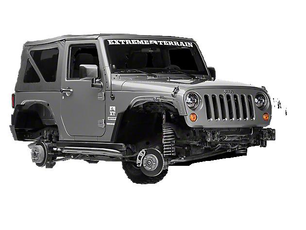 Rugged Ridge Wrangler Xhd Black Wheels J108471 07 18 Jk 2018 Jl Free Shipping